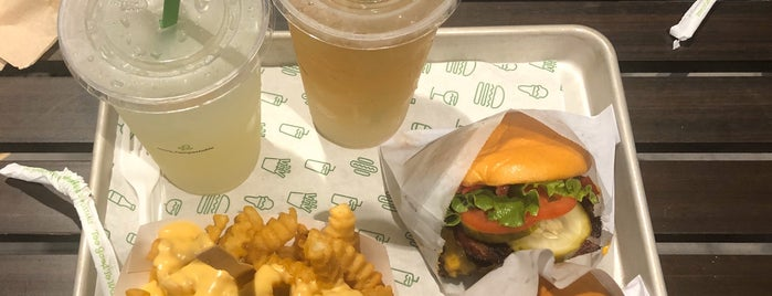 Shake Shack is one of Miami weekday's lunch.