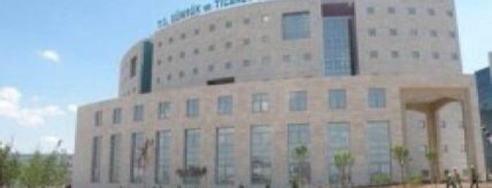 T.C. Gümrük ve Ticaret Bakanlığı is one of Orte, die Murat gefallen.