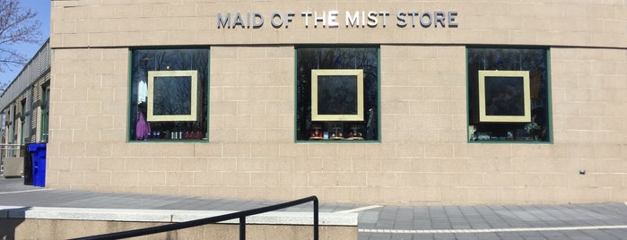 Maid of the Mist Store is one of Niagara Falls & NY visit - September 2016.