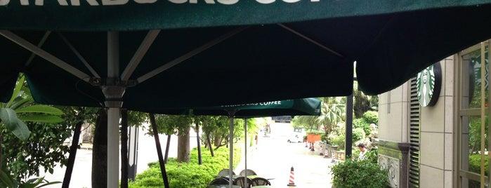Starbucks is one of Orte, die E. gefallen.
