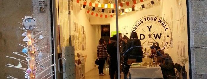 Miscelanea Gallery-Shop-Café is one of barcelona • art.