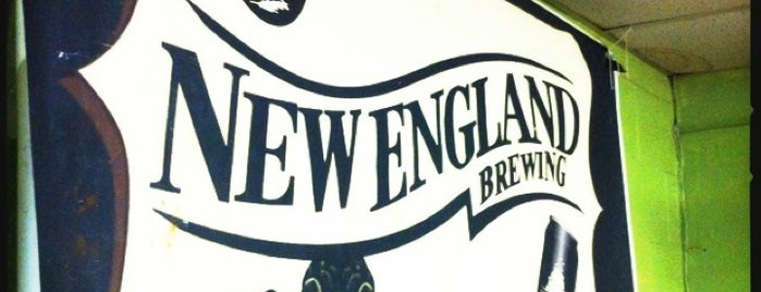 New England Brewing Company is one of Lugares favoritos de Scott.