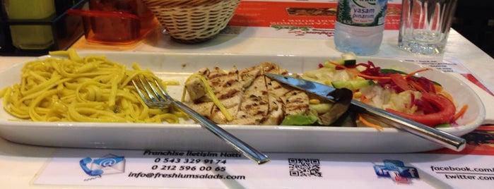 Freshium Salads is one of Tempat yang Disukai Muhammed.