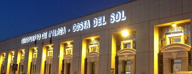 Aeropuerto de Málaga - Costa del Sol (AGP) is one of สถานที่ที่ Виктория ถูกใจ.