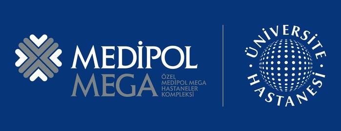 Medipol Mega Üniversite Hastanesi is one of Hospitals.