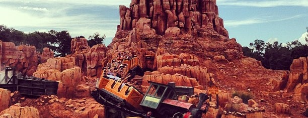 Big Thunder Mountain Railroad is one of Lieux qui ont plu à Drew.