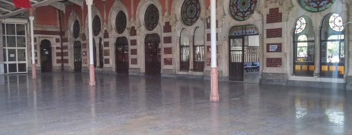 İstanbul Demiryolu Müzesi is one of Lugares favoritos de www.tatiliyet.com.