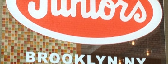 Junior's Restaurant & Bakery is one of NYC Recommended by FM 3.