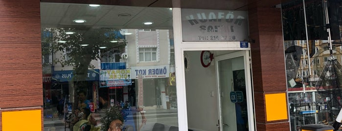Kuaför Şafak is one of ömer : понравившиеся места.