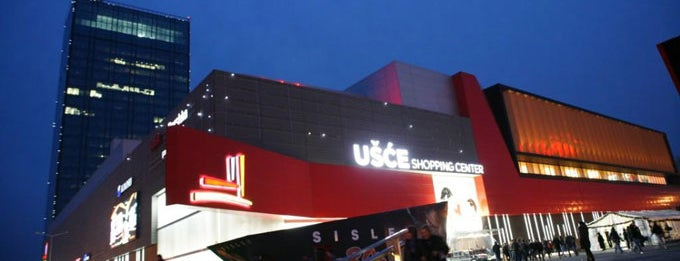 Ušće Shopping Center is one of beograd/serbia.
