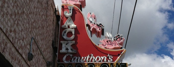 Jack Cawthon's Bar-B-Que is one of TN - Nashville.