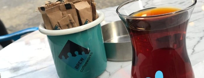 Brew Coffee Works is one of Ist 🇹🇷.