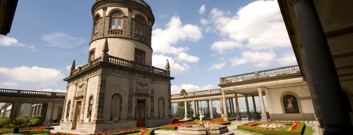 Museo Nacional de Historia (Castillo de Chapultepec) is one of Mexico City Mapped.
