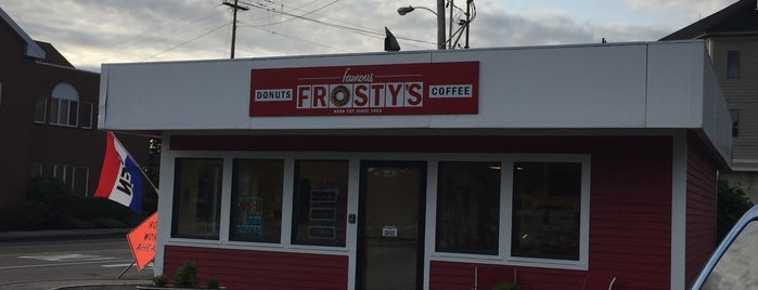 Frosty's Donuts & Coffee Shop is one of Gespeicherte Orte von Pete.