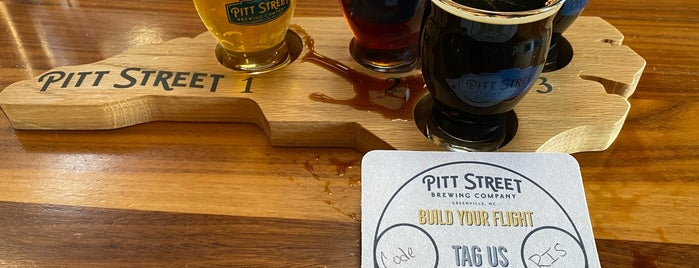 Pitt Street Brewing Company is one of NC Craft Breweries.