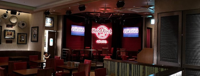 Hard Rock Cafe is one of Japan. Places.
