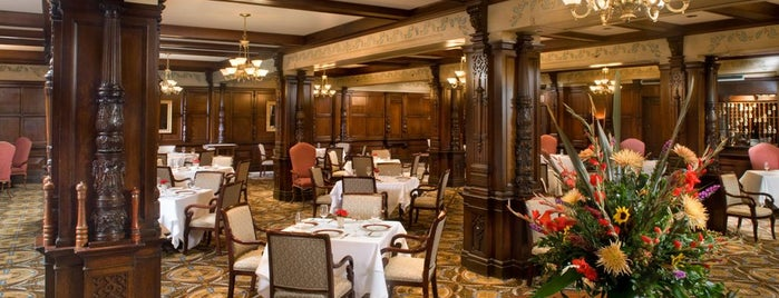The Oakroom at the Seelbach Hilton is one of Louisville.