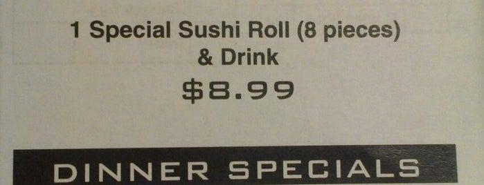 Leo's Fine Sushi is one of สถานที่ที่ Jemma ถูกใจ.