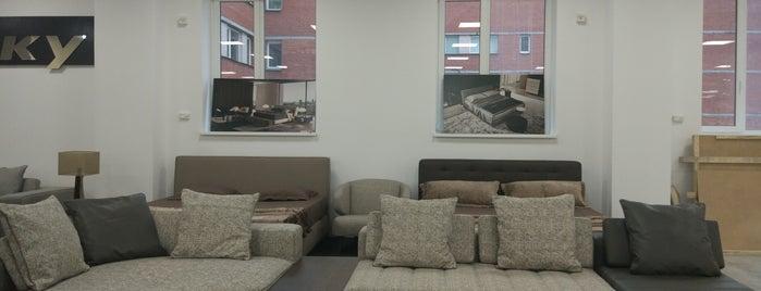 Мебельный центр «Богатырь» is one of Lieux qui ont plu à Mihail.