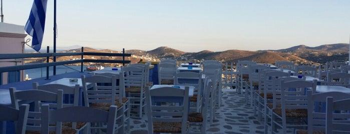 Φραγκοσυριανή is one of Syros.