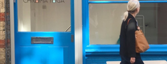 Chroma Yoga is one of London Today.