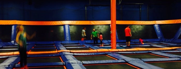 Sky Zone is one of Brittany 님이 저장한 장소.