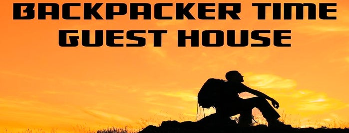 Backpacker Time Guest House is one of Lieux sauvegardés par Cem.