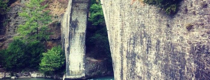 Plaka Bridge is one of Amazing Epirus.