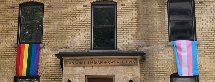 Canadian Lesbian & Gay Archives (CLGA) is one of Toronto's Great Buildings.