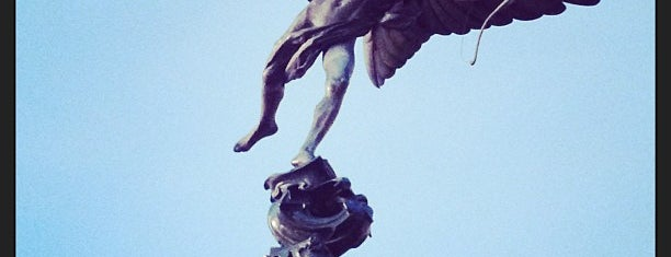 Anteros (Statue of Eros) is one of London Favorites.