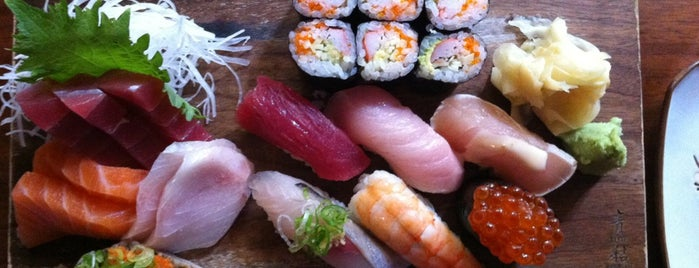 Blue Ribbon Sushi is one of 11 Howard + Foursquare Guide to SoHo.