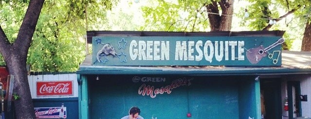 Green Mesquite BBQ is one of TV Food Spots: Austin Metro Area.
