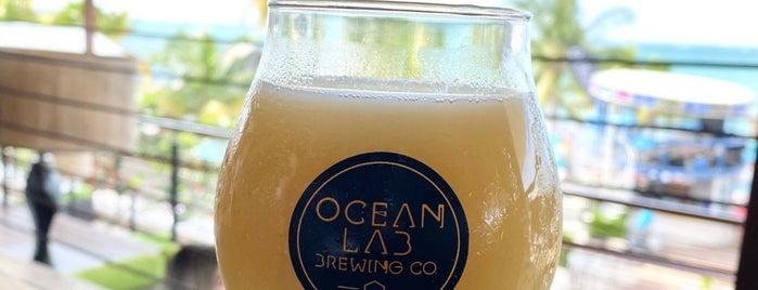 Ocean Lab Brewing Co. is one of Locais salvos de Brent.