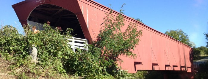 Holliwell Covered Bridge is one of Tempat yang Disukai IrmaZandl.
