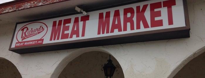 Richard's Meat Market is one of NWA I-49 Good Eats.