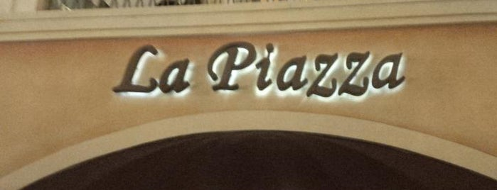 La Piazza is one of CA, LA.