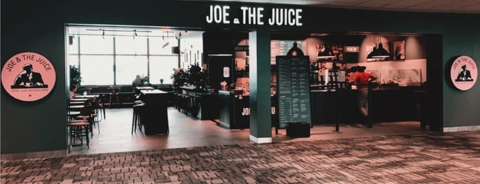JOE & THE JUICE is one of Kristen'in Beğendiği Mekanlar.