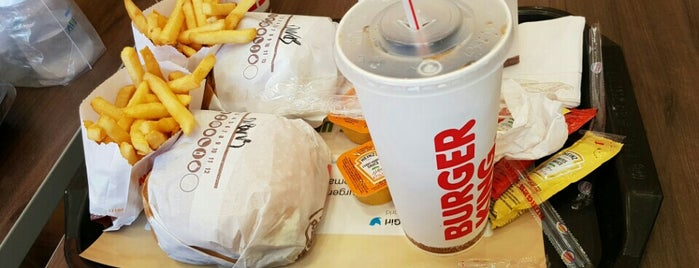 Burger King is one of Kevin : понравившиеся места.