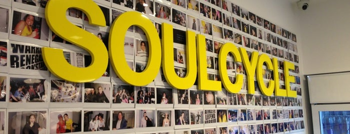 SoulCycle East 63rd is one of Tempat yang Disukai Christina.