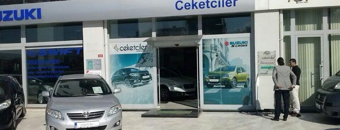 Ceketçiler Otomotiv is one of Orte, die Perihan gefallen.
