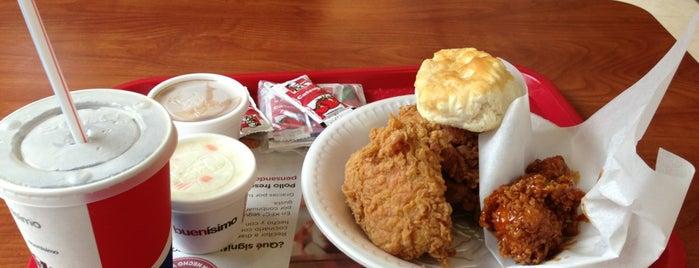 KFC is one of Orte, die Miguel gefallen.