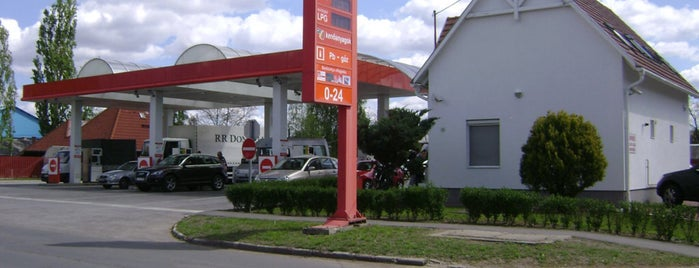 Debrecen petrol station's