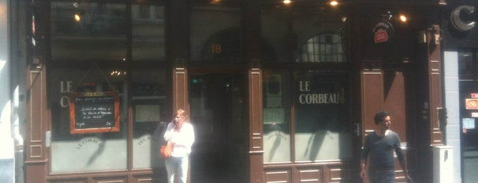 Le Corbeau is one of Restaurants for lunch (in Brussels or elsewhere).