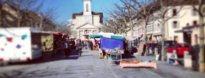 Place du Marché is one of สถานที่ที่ David ถูกใจ.