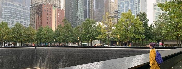 9/11 Memorial South Pool is one of Locais curtidos por Laetitia.