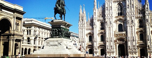 Piazza del Duomo is one of Milan 2018.