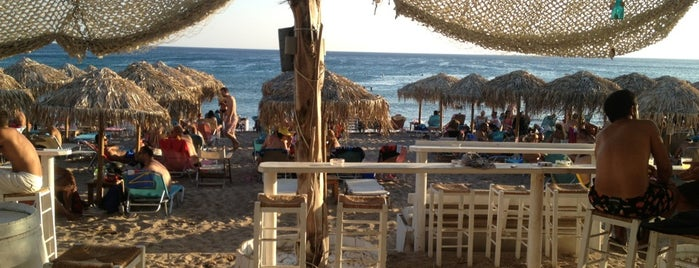 Blue Beach Bar is one of Locais salvos de Efthimis.