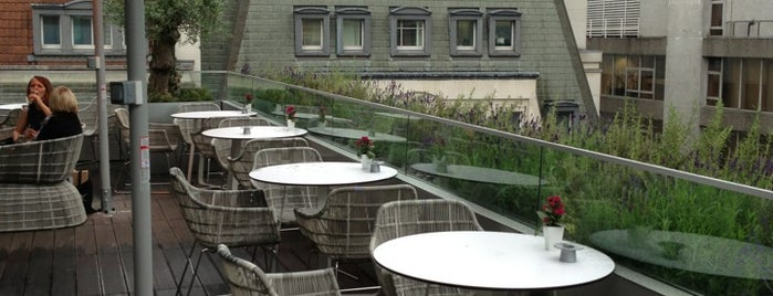 Angler Rooftop Restaurant and Terrace is one of Michelin Starred Restaurants in London.