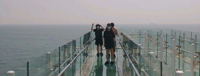 Oryukdo Skywalk is one of Busan.