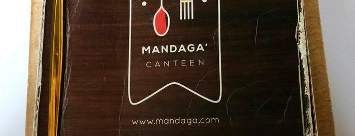 Mandaga' Canteen is one of Jakarta.